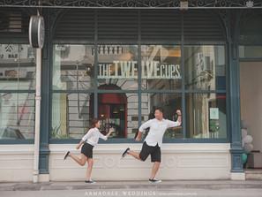 Penang Pre-Wedding | Celebrating Chris & James