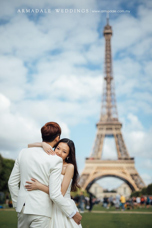 paris prewedding location
