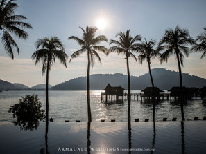 Beach Wedding in Pangkor Laut Resort | Lauren & Jack