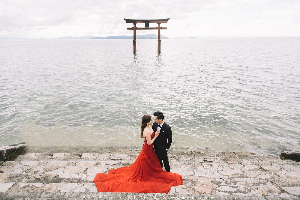 kyoto-prewedding-lake-biwa