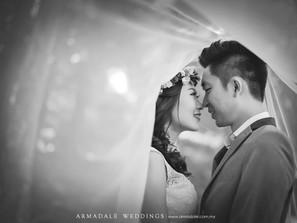 Pre-wedding in KL - Ashley & Liho