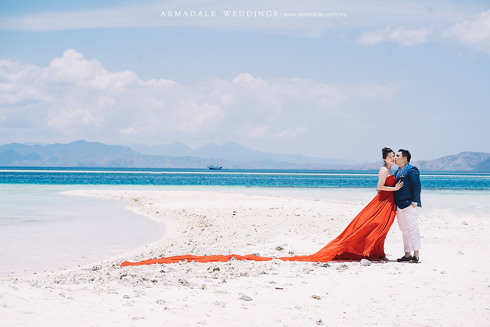 pre-wedding location overseas