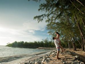 Port Dickson pre-wedding | Celebrating Sandra & Freddie
