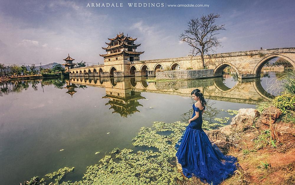Royal Blue Off Shoulder Mermaid Gown