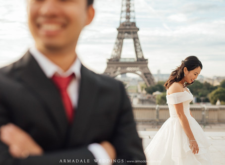 Paris Pre-Wedding | Shinn & Susan
