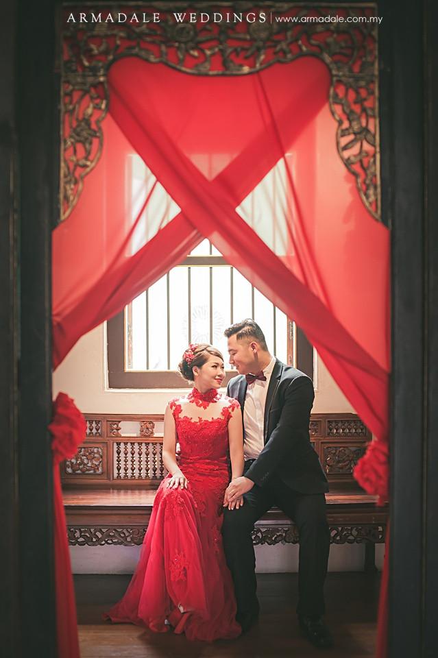 penang heritage prewedding