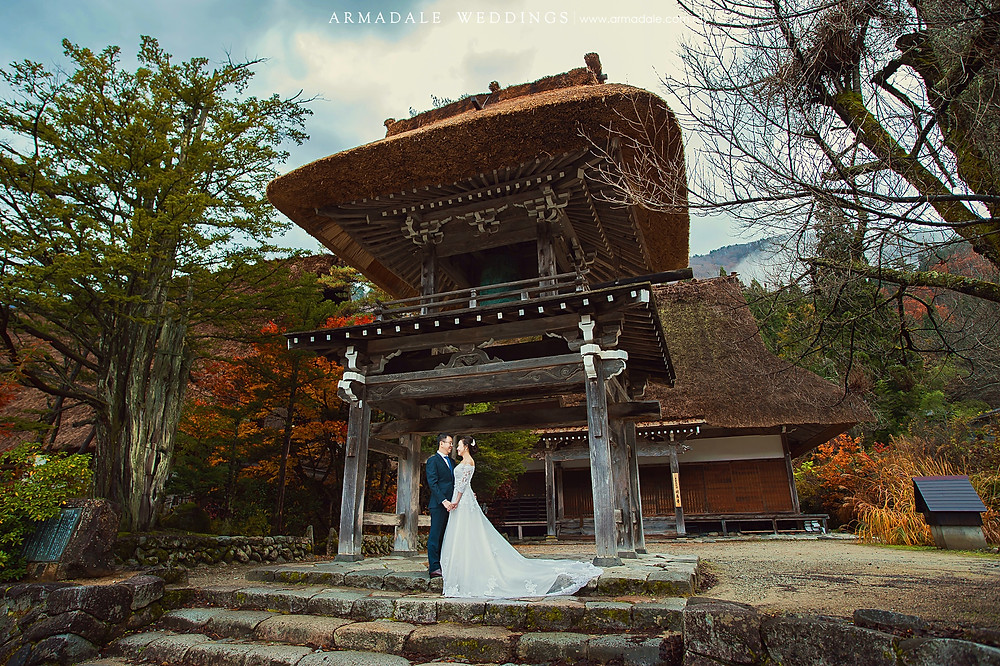 shirakawa-go prewedding