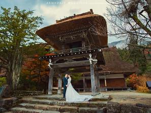 Shirakawago, Japan pre-wedding | Alice and Kent