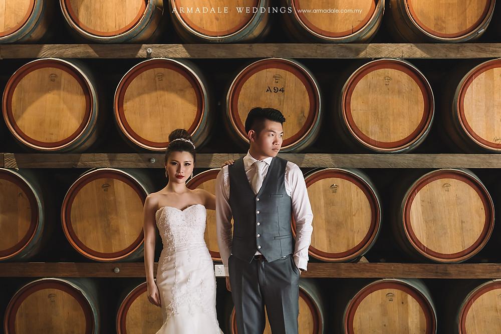 Perth vineyard prewedding
