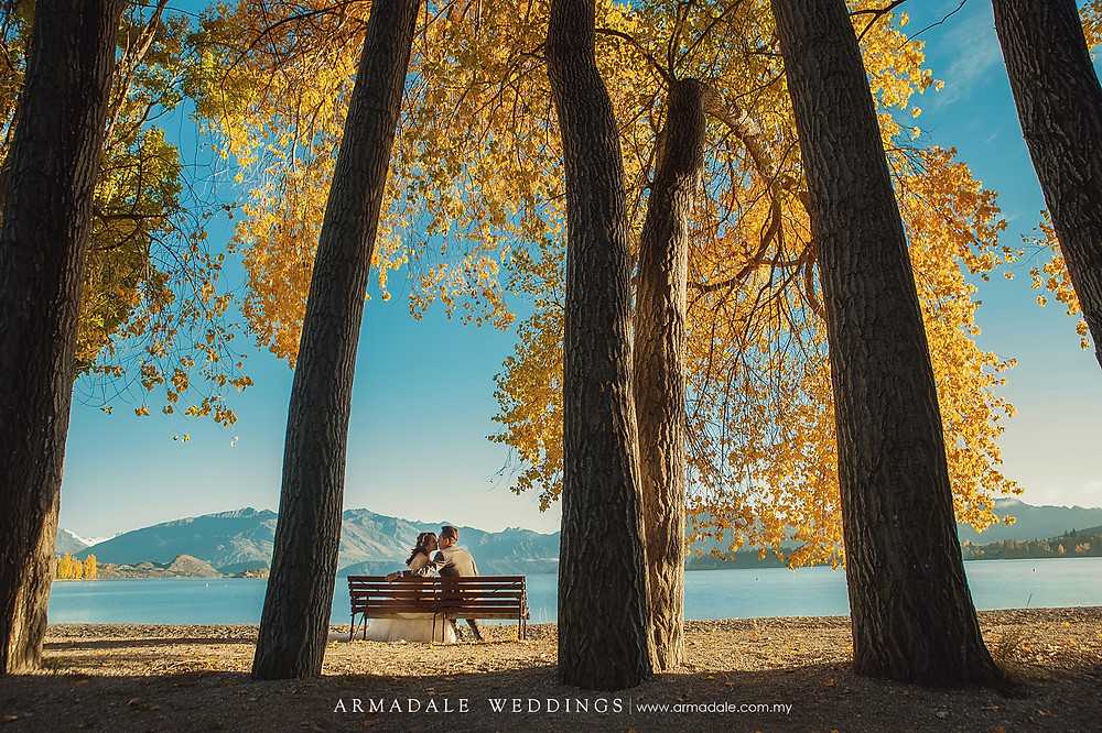 New Zealand prewedding, Lake Wanaka