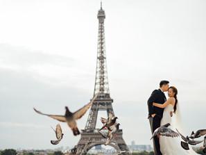 Paris Pre-Wedding | Celebrating Jye Kuen & Ke Yaw