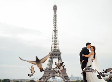 Paris Pre-Wedding | Celebrating Jye Kuen & Ke Yaw