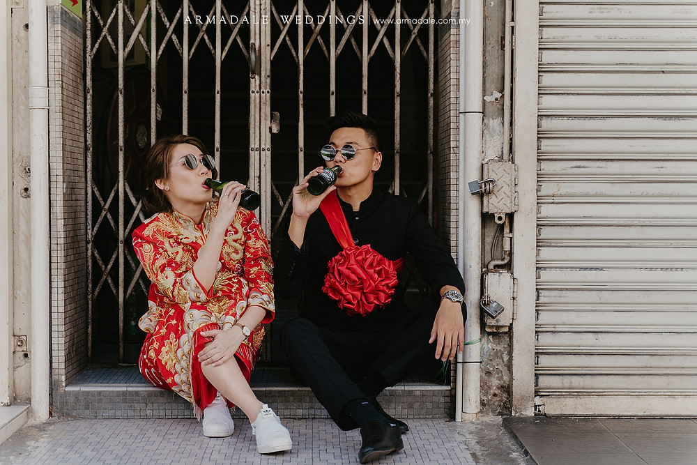 Pre-Wedding Photoshoot in KL