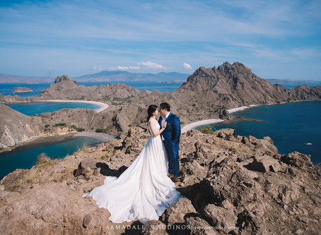 Pre-Wedding in Komodo Island | Christine & Ray
