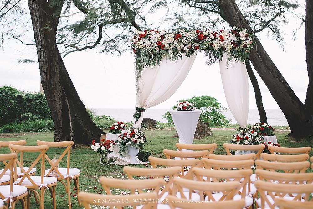 Phuket garden wedding