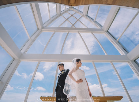 Ritz Carlton Bali Chapel Wedding | Celebrating Agnes & Dominic