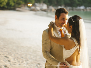 Beach Wedding in Pangkor Laut Resort