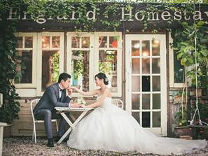 Pre-Wedding in England House, Penang | Celebrating Hui Lyn & Lim Zhen