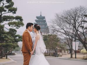 Seoul, Korea Pre-Wedding | Celebrating Jacqueline & David