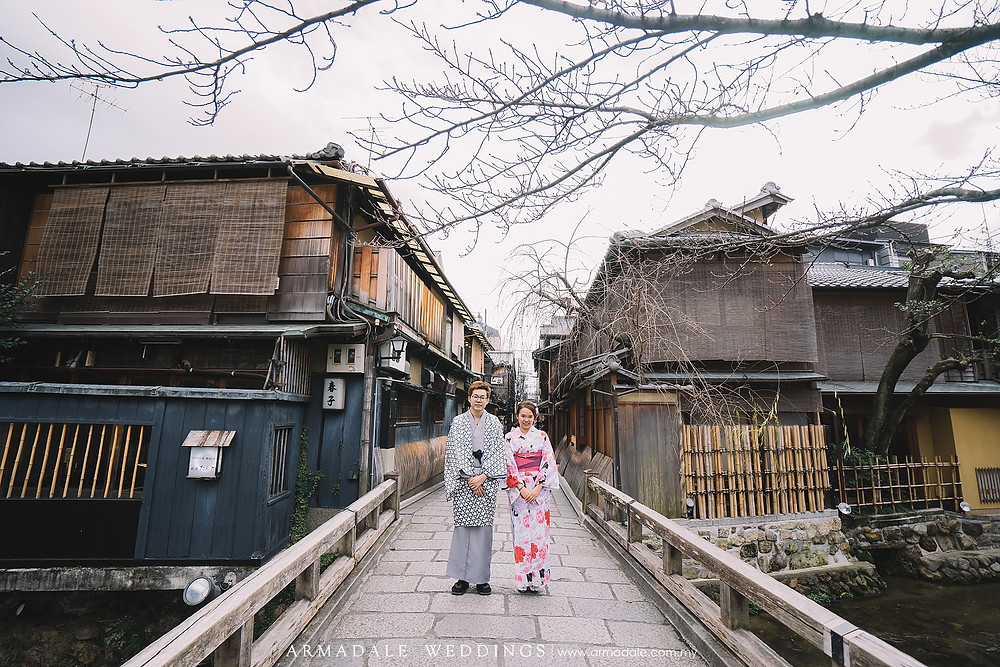 kyoto japan prewedding