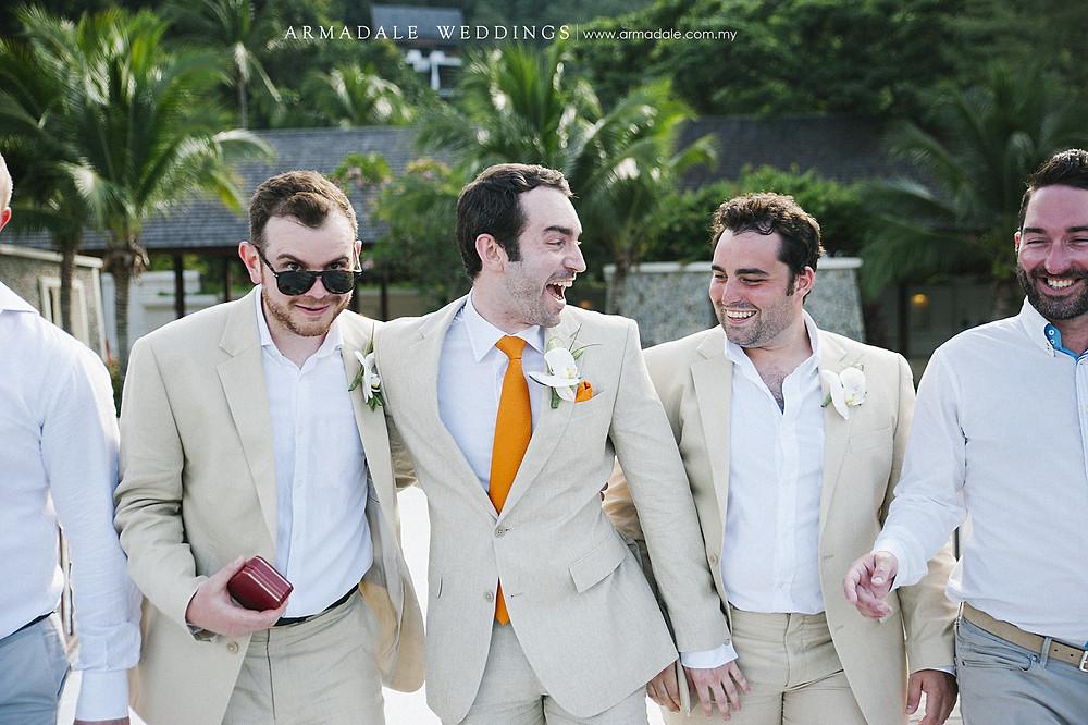 pankor laut resort beach wedding