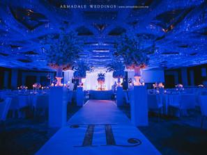 Winter Theme Wedding in Grand Hyatt | Celebrating Teck Chuan & Yun Ming