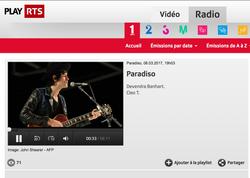 Radio live session