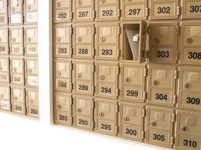 Mailbox rental in London