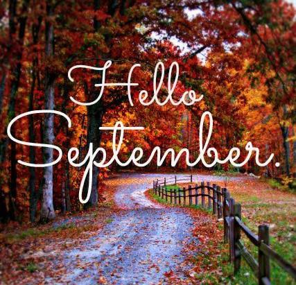 Αντίο Αύγουστε, καλώς ήρθες Σεπτέμβρη!!!