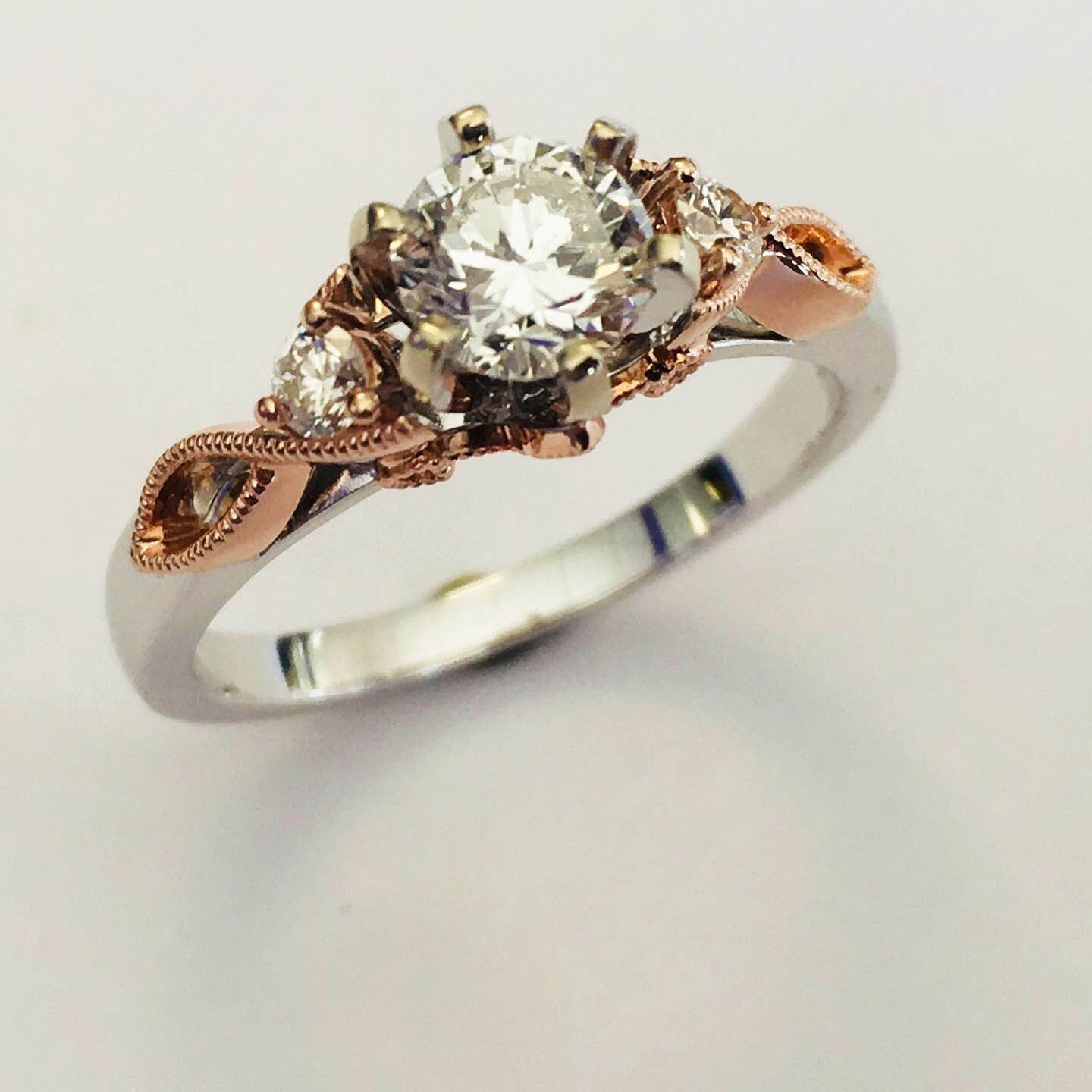 2 color wedding ring