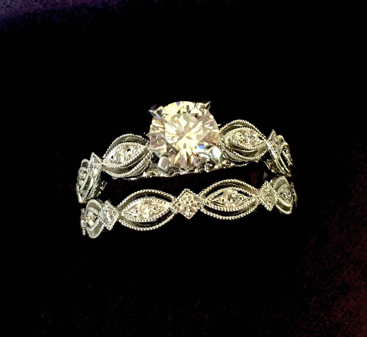 twist wedding ring