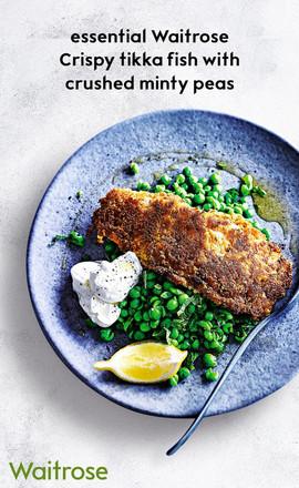Essential Crispy Tikka Fish