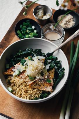 Sesame Kale Macro Bowl Redo