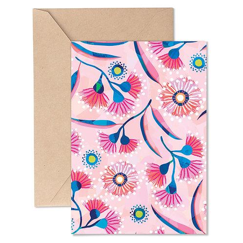 Greeting Card - Flowering Gum