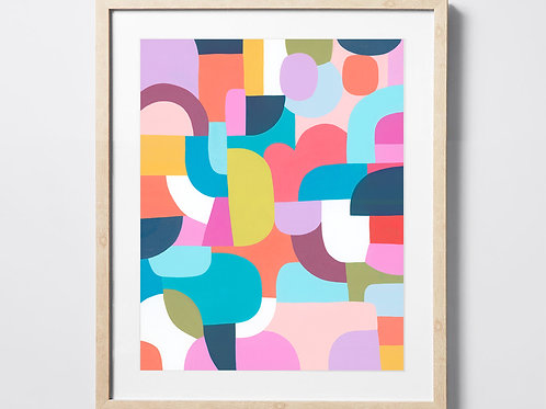 The Colour and the Shape - Fine Art Print