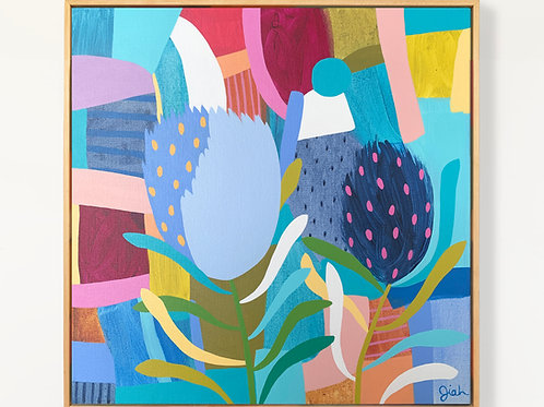 Wild Banksia - Original painting