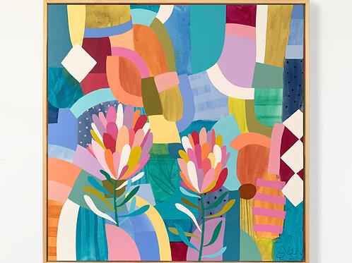 Protea Pop - Original painting