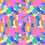 Thumbnail: Painterly - Pink -  Non-exclusive license