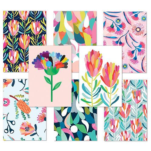 Botanical Greeting Card Set