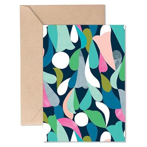 Greeting Card - Gumdrop Midnight