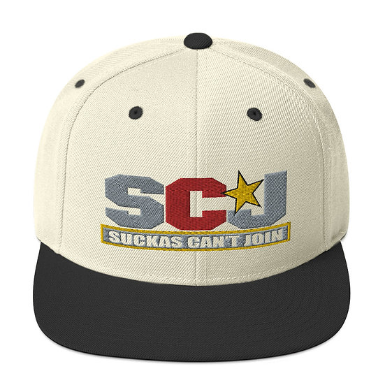 SCJ Stars Snapback Hat