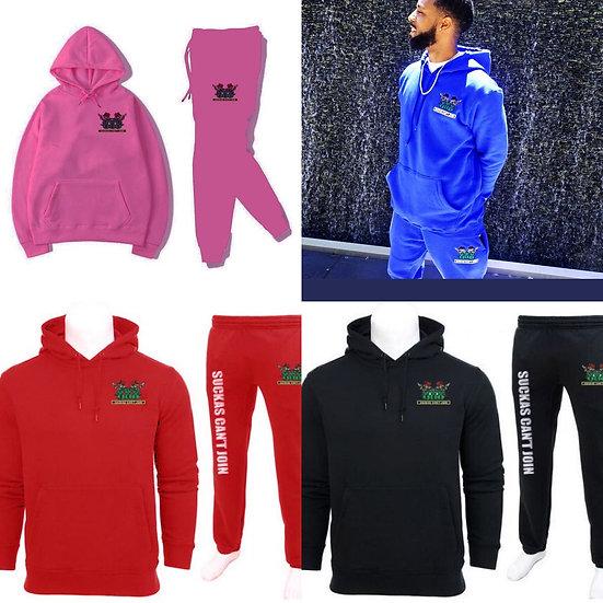 Jumpsuits (Red, Blue, Pink, Black)