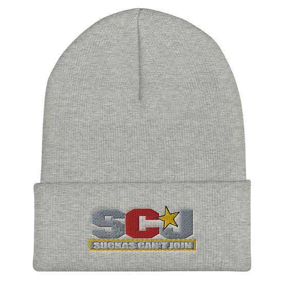 SCJ Star Cuffed Beanie