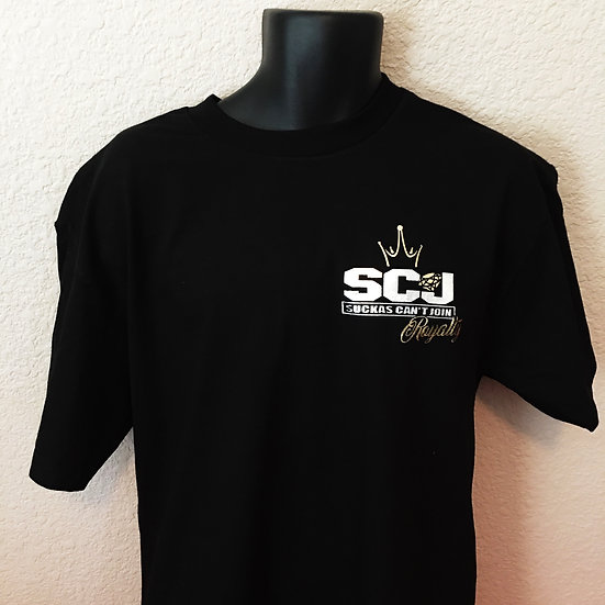 SCJ Royalty Black Tee