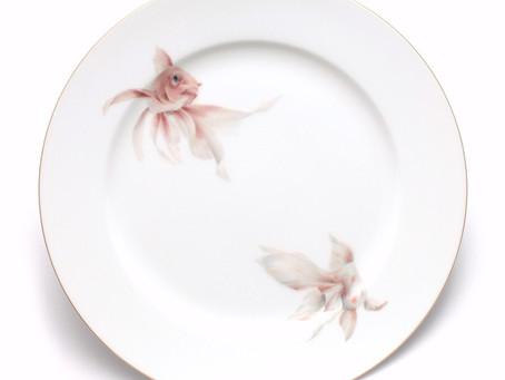 金魚皿二枚組