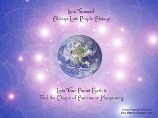 Shift global consciousness,