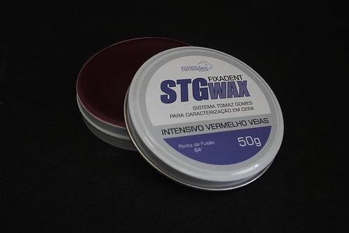 STG WAX FIXADENT INTENSIVO VERMELHO VEIAS 50G