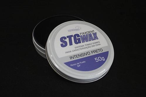 STG WAX FIXADENT INTENSIVO PRETO 50G