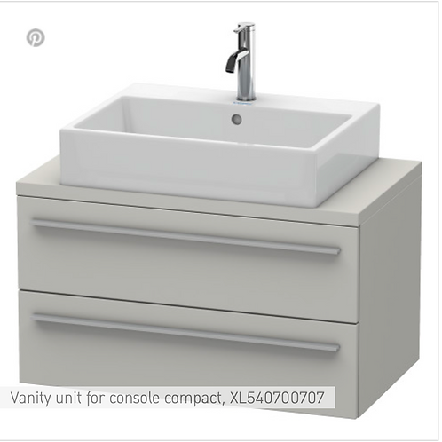 Duravit X-Large Vanity Unit For Console  900mm x 478mm