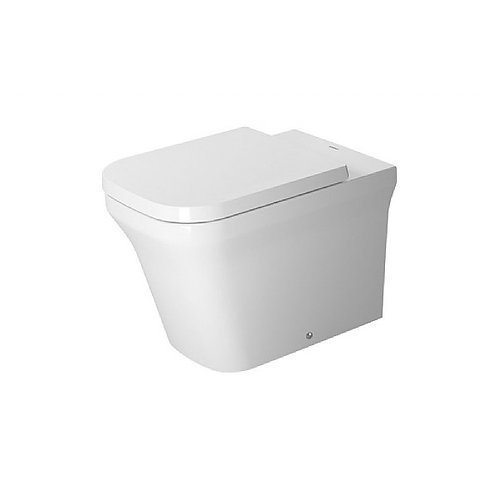 Duravit P3 Comforts Back-To-Wall Rimless Pan